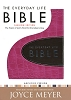 Amplified - Everyday Life Bible-Pink/Expresso Bonded Leather
